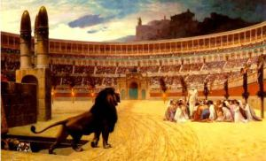 Christians and Lion